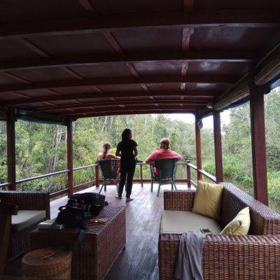 Sekonyer viewing deck