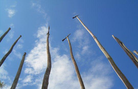 Heaven poles